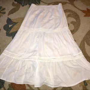 2 for $20 old Navy  White Boho Cotton  Skirt